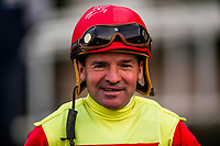 ARCADIA, CA - DECEMBER 30: Kent Desormeaux after winning aboard Silent Bird at Santa Anita Park on December 30, 2017 in Arcadia, California. (Photo by Alex Evers/Eclipse Sportswire/Getty Images)