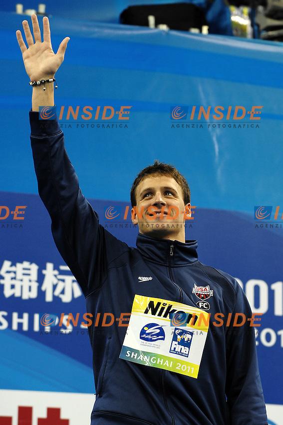 Ryan LOCHTE USA Gold Medal.Men's 200m Individual Medley - Swimming / Nuoto.Shanghai 28/7/2011 .14th FINA World Championships.Foto Andrea Staccioli Insidefoto