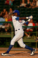May 7 2010: Kevin Jordan (34) of the Daytona Cubs during a game vs. the Clearwater Threshers at Jackie Robinson Ballpark in Daytona Beach, Florida. Daytona, the Florida State League High-A affiliate of the Chicago Cubs, lost the game against Clearwater, affiliate of the Philadelphia Phillies, by the score of 8-3.  Photo By Scott Jontes/Four Seam Images