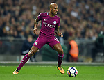 Fabian Delph of Manchester City during the premier league match at the Wembley Stadium, London. Picture date 14th April 2018. Picture credit should read: Robin Parker/Sportimage