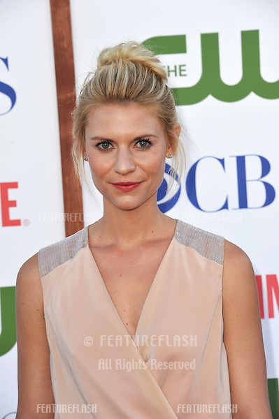 Claire Danes, star of Homeland, at the CBS Summer 2011 TCA Party at The Pagoda, Beverly Hills..August 3, 2011  Los Angeles, CA.Picture: Paul Smith / Featureflash