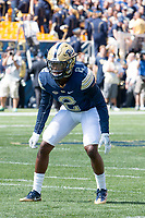 Pitt defensive back Terrish Webb. The Pitt Panthers defeated the Villanova Wildcats 28-7 at Heinz Field, Pittsburgh, Pennsylvania on September 3, 2016.