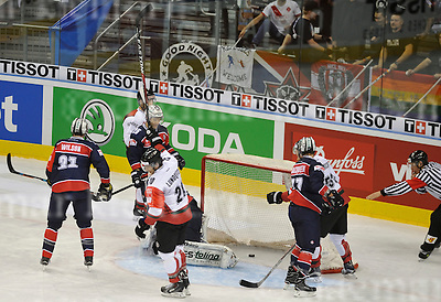 November 01-2016,Mercedes-Benz Arena,Berlin,Germany<br /> Champions Hockey League<br /> Ice Hockey	 <br /> Eisb&auml;ren Berlin - FR&Ouml;LUNDA HC<br /> Joel Lundqvist ,m, scored the 4th goal for Fr&ouml;lunda