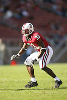 18 November 2006: Wopamo Osaisai during Stanford's 30-7 loss to Oregon State at Stanford Stadium in Stanford, CA.