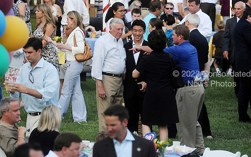 United States House Democratic Whip Steny Hoyer (Democrat of Maryland) attends the Congressional Picnic on the South lawn of the White House, June 15, 2011, in Washington D.C..Credit: Olivier Douliery / Pool via CNP