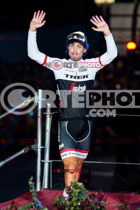 Fabio Felline, winner of Points classification at La Vuelta a España 2016 in Madrid. September 11, Spain. 2016. (ALTERPHOTOS/BorjaB.Hojas) NORTEPHOTO.COM
