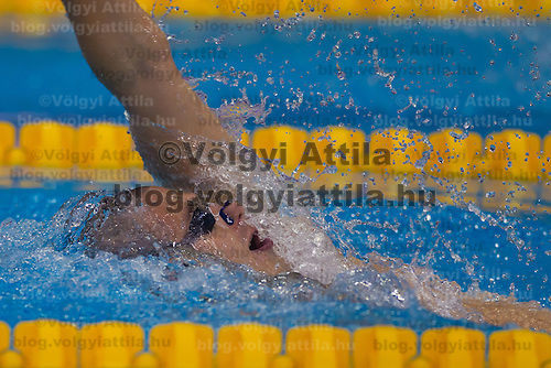 Laszo Cseh of Hungary competes in the Men's 200m Individual Medley final of the 31th European Swimming Championships in Debrecen, Hungary on May 23, 2012. ATTILA VOLGYI