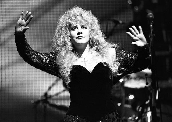 Stevie Nicks performing in 1991. Credit: Ian Dickson/MediaPunch