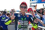 Gran Premio TIM di San Marino during the moto world championship in Misano.<br /> 13-09-2014 in Misano world circuit Marco Simoncelli.<br /> MotoGP<br /> valentino rossi<br /> PHOTOCALL3000