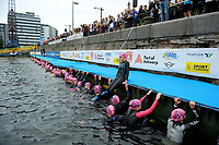 20180617 - ANTWERP , BELGIUM : Ines Van Troyen pictured during The Port Of Antwerp Triathlon World Cup Man and Women , a ITU Sprint Triathlon in Antwerp , Sunday 17 th June 2018 , PHOTO SPORTPIX.BE | STIJN AUDOOREN