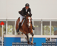 Uraya ridden by Charlie Jayne,  USEF trials#2 Wellington Florida. 3-22-2012