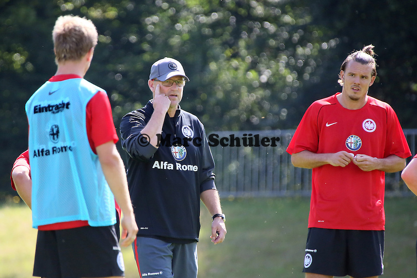 Trainer Thomas Schaaf (Eintracht) - Eintracht Frankfurt Trainingsauftakt, Commerzbank Arena