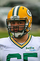 Green Bay Packers guard Lane Taylor (65) during an Organized Team Activity on May 23, 2017 at Clarke Hinkle Field in Green Bay, Wisconsin.  (Brad Krause/Krause Sports Photography)