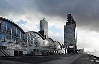 Nederland Rotterdam 2017. De Wilhelminapier. Cruise Terminal Rotterdam.  Foto Berlinda van Dam / Hollandse Hoogte