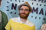 """Manuel Burque durante el photocall de la presentación de la pelicula """"Requisitos para ser una persona normal"""" en los cines Palafox.<br /> (ALTERPHOTOS/BorjaB.Hojas)"""