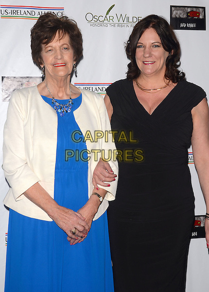 27 February 2014 - Santa Monica, California - Philomena Lee, Jane Libberton. Arrivals for the 9th Annual &quot;Oscar Wilde: Honoring The Irish In Film&quot; Pre-Academy Awards Event at Bad Robot in Santa Monica, Ca. <br /> CAP/ADM/BT<br /> &copy;Birdie Thompson/AdMedia/Capital Pictures