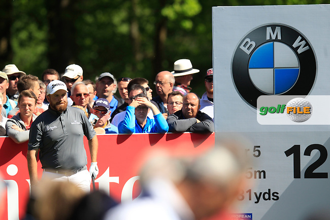 Shane LOWRY (IRL) during round 1 of the 2015 BMW PGA Championship over the West Course at Wentworth, Virgina Water, London. 21/05/2015<br /> Picture Fran Caffrey, www.golffile.ie: