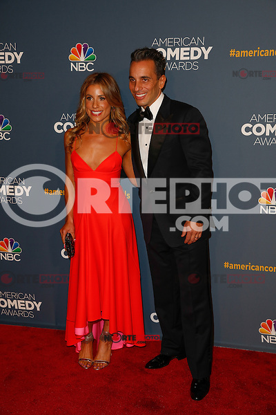New York, New York - April 26 : Sebastian Maniscalco and guest attend the American Comedy<br /> Awards held at the Hammerstein Ballroom in New York, New York<br /> on April 26, 2014.<br /> Photo by Brent N. Clarke / Starlitepics /NortePhoto