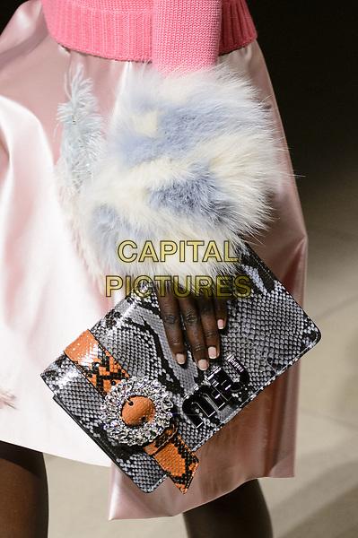MIU MIU<br /> at Paris Fashion Week FW 17 18<br /> in Paris, France on  March 07, 2017.<br /> CAP/GOL<br /> &copy;GOL/Capital Pictures