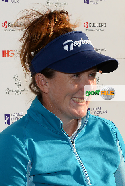 Beth Allen of USA looks on following the Final Round of The ISPS Handa Ladies European Masters at The Buckinghamshire Golf Club, Denham, England. Picture: Golffile   Richard Martin-Roberts<br /> All photo usage must carry mandatory copyright credit (&copy; Golffile   Richard Martin- Roberts)