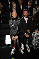 Bella Hadid and David Beckhamn in the front row<br /> Dior Homme show, Front Row, Pre Fall 2019, Tokyo, Japan - 30 Nov 2018.<br /> CAP/SAT<br /> &copy;Satomi Kokubun/Capital Pictures