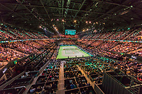 Rotterdam, The Netherlands, 18 Februari, 2018, ABNAMRO World Tennis Tournament, Ahoy, Singles final, Roger Federer (SUI), Grigor Dimitrov (BUL), overall vieuw<br /> <br /> Photo: www.tennisimages.com