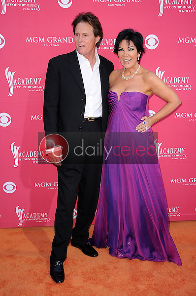 Bruce Jenner and Kris Jenner<br />