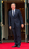 David Cameron, Prime Minister of the United Kingdom of Great Britain and Northern Ireland arrives for the working dinner for the heads of delegations at the Nuclear Security Summit on the South Lawn of the White House in Washington, DC on Thursday, March 31, 2016.<br /> Credit: Ron Sachs / Pool via CNP