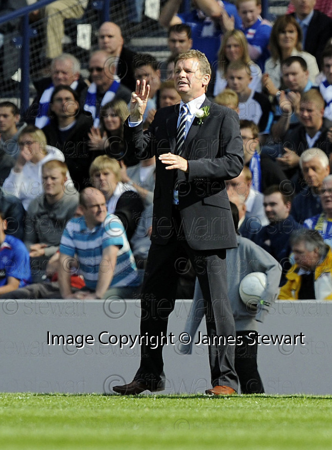 24/05/2008   Copyright Pic: James Stewart.File Name : sct_jspa42_qots_v_rangers.QUEEN OF THE SOUTH MANAGER GORDON CHISHOLM.James Stewart Photo Agency 19 Carronlea Drive, Falkirk. FK2 8DN      Vat Reg No. 607 6932 25.Studio      : +44 (0)1324 611191 .Mobile      : +44 (0)7721 416997.E-mail  :  jim@jspa.co.uk.If you require further information then contact Jim Stewart on any of the numbers above........