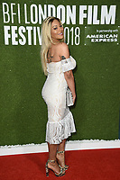 "Munroe Bergdorf<br /> arriving for the London Film Festival screening of ""Been so Long"" at the Cineworld Leicester Square, London<br /> <br /> ©Ash Knotek  D3439  12/10/2018"