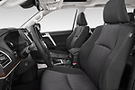Front seat view of 2018 Toyota Land-Cruiser-150 Lounge 5 Door SUV Front Seat  car photos