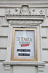 Theatre Marquee installation for 'A Dolls House Part 2'  starring Laurie Metcalf, Jayne Houdyshell, Chris Cooper and Condola Rashad at John Golden Theatre on January 12, 2017 in New York City.