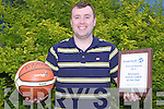 BASKETBALL: Tralee Imperials Liam Culloty winner of the National basketball women's senior coach of the year...