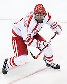 Jakob Forsbacka Karlsson (BU - 23) - The Boston University Terriers defeated the visiting University of Connecticut Huskies 4-2 (EN) on Saturday, October 24, 2015, at Agganis Arena in Boston, Massachusetts.