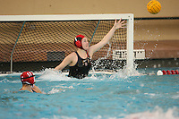 2 February 2007: Meridith McColl during Stanford's 10-6 win over Hawaii at the Avery Aquatic Center in Stanford, CA.