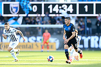San Jose, CA - Saturday March 23, 2019: A friendly match between the San Jose Earthquakes and C.F. Monterrey at Avaya Stadium.