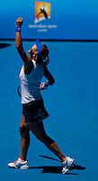 Na Li (CHN) (16) against Caroline Wozniacki (DEN) (4) in the Fourth Round of the Womens Singles. Li beat Wozniacki 6-4 6-3..International Tennis - Australian Open Tennis - Monday 25 Jan 2010 - Melbourne Park - Melbourne - Australia ..© Frey - AMN Images, 1st Floor, Barry House, 20-22 Worple Road, London, SW19 4DH.Tel - +44 20 8947 0100.mfrey@advantagemedianet.com