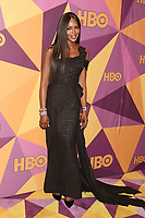 BEVERLY HILLS, CA - JANUARY 07: Model  Naomi Campbell arrives at HBO's Official Golden Globe Awards After Party at Circa 55 Restaurant in the Beverly Hilton Hotel on January 7, 2018 in Los Angeles, California.