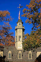 Tower of the Governor's Palace in Williamsburg Virginia.