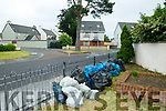 Residents annoyed at illegal dumping in Ogham Rian Housing Estate Tralee.
