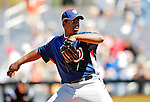 17 March 2007: Washington Nationals pitcher Jerome Williams  in action against the New York Mets at Tradition Field in Port St. Lucie, Florida...Mandatory Photo Credit: Ed Wolfstein Photo