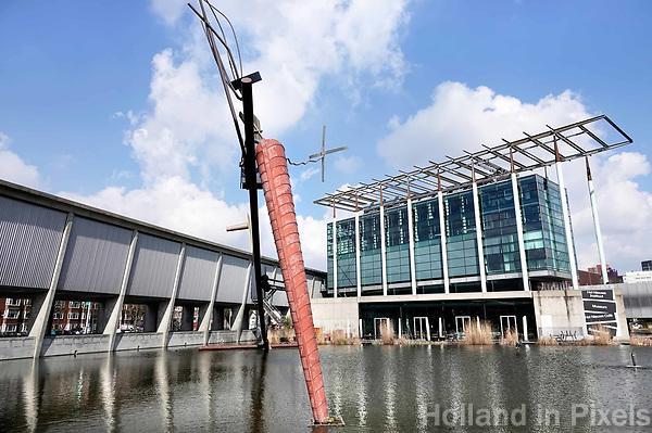 Nederland - Rotterdam - 26 maart 2018.  Het Nieuwe Instituut. Museum voor architectuur, design en digitale cultuur.   Foto Berlinda van Dam / Hollandse Hoogte.