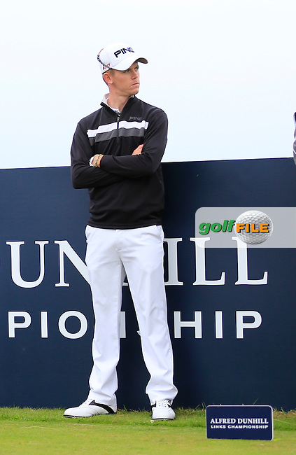Brandon Stone (RSA) on day two of the Alfred Dunhill links Championship Old Course, St Andrews, Fife, Scotland.<br /> Picture Fran Caffrey www.golffile.ie