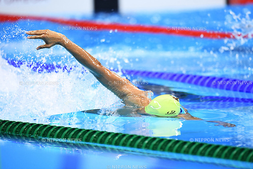 Andre Brasil (BRA), <br /> SEPTEMBER 15, 2016 - Swimming : <br /> Men's 400m Freestyle S10 Final <br /> at Olympic Aquatics Stadium<br /> during the Rio 2016 Paralympic Games in Rio de Janeiro, Brazil.<br /> (Photo by AFLO SPORT)