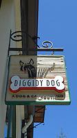 CARMEL - APR 29: Diggidy Dog store in Carmel, California on April 29, 2011.