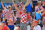 08.06.2019., stadium Gradski vrt, Osijek - UEFA Euro 2020 Qualifying, Group E, Croatia vs. Wales. Fans in the stand.<br /> <br /> Foto © nordphoto / Davor Javorovic/PIXSELL