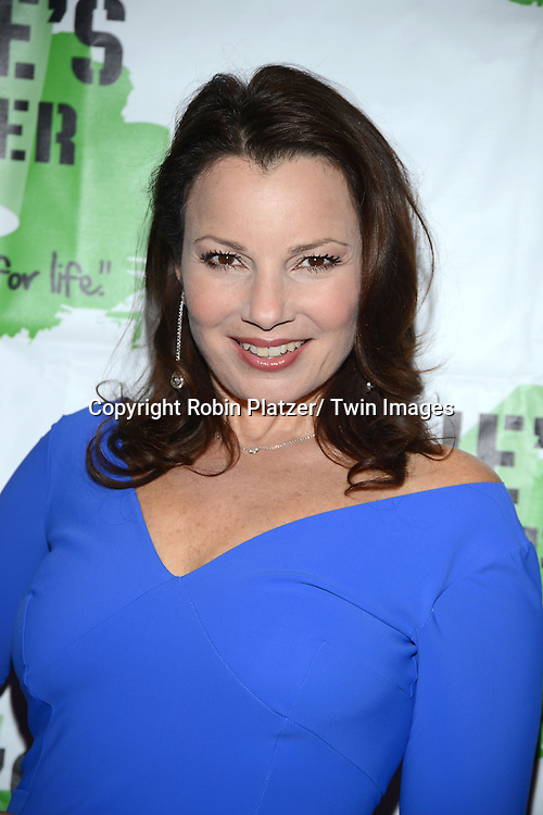 Fran Drescher attend Rosie's Theater Kids 10th Anniversary Gala on September 25, 2013 at the Marriott Marquis Hotel in New York City. The event is hosted by Rosie O' Donnell.