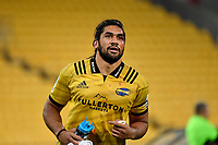Hurricanes&rsquo; Michael Fatialofa in action during the Super Rugby - Hurricanes v Lions at Westpac Stadium, Wellington, New Zealand on Saturday 5 May 2018.<br /> Photo by Masanori Udagawa. <br /> www.photowellington.photoshelter.com