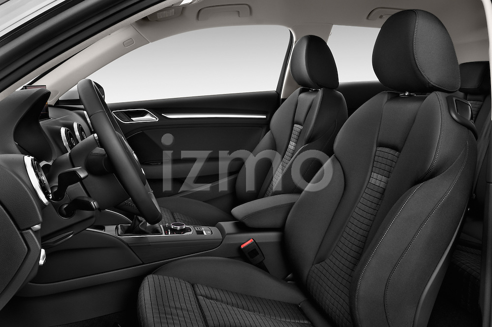 Front seat view of a 2013 - 2014 Audi A3 Ambition 3-Door Hatchback.