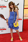 BELLA THORNE. Arrivals to the Los Angeles premiere of Dreamworks' How To Train Your Dragon at the Gibson Amphitheater. Universal City, CA, USA. March 21, 2010.